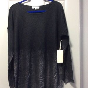 Two by Vince Camuto Black Top size XL New